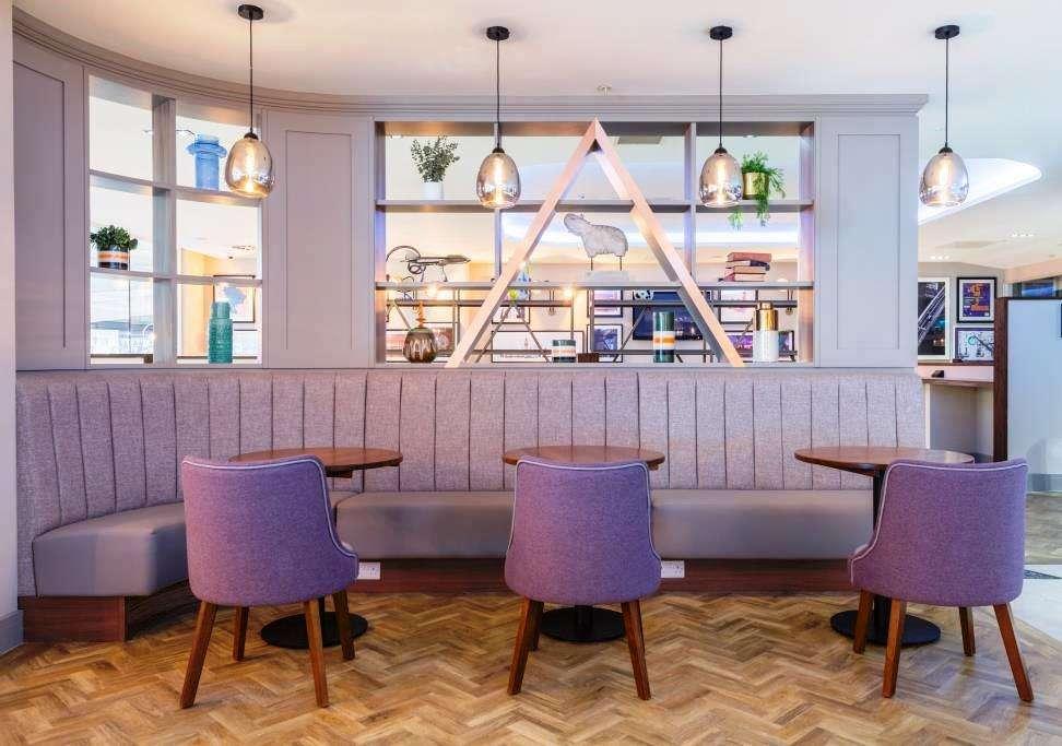 Swissport Aspire Lounge, London Luton Airport