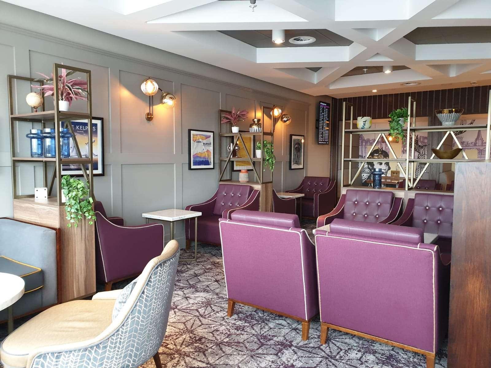 Swissport Aspire Lounge, Edinburgh Airport