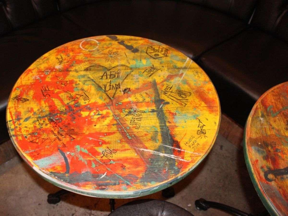 04 Black Barrel Liverpool desk table top