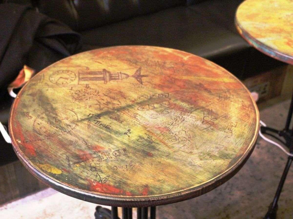 08 Black Barrel Liverpool desk table top