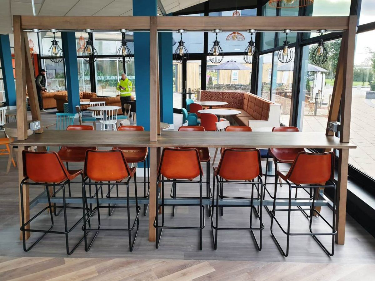10 The Centre Cafe Birchwood Ben A-table