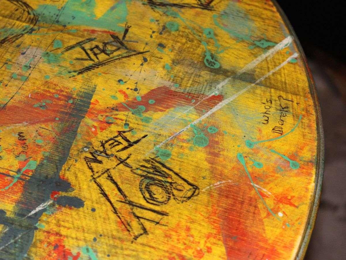 Black Barrel Liverpool desk table top