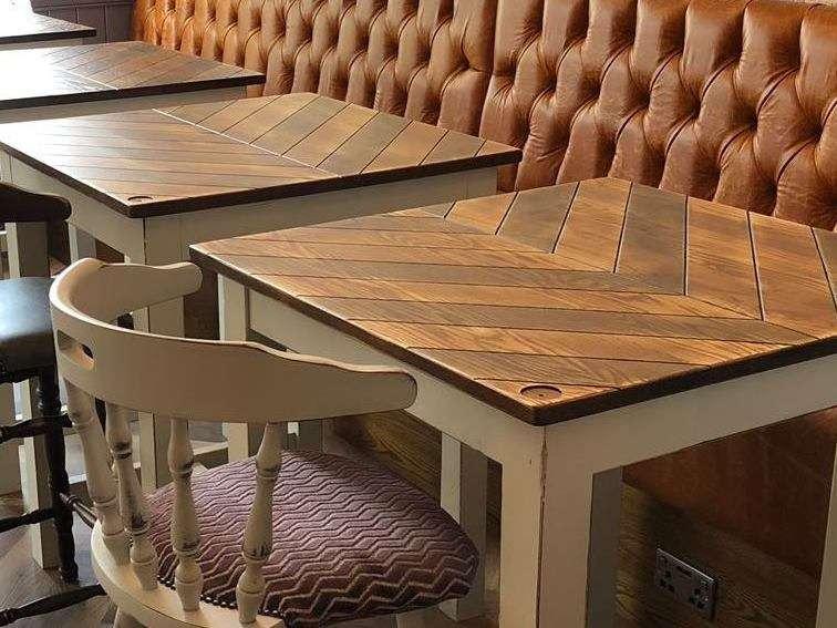 Brocklehurst Arms macclesfield chevron table top (01)