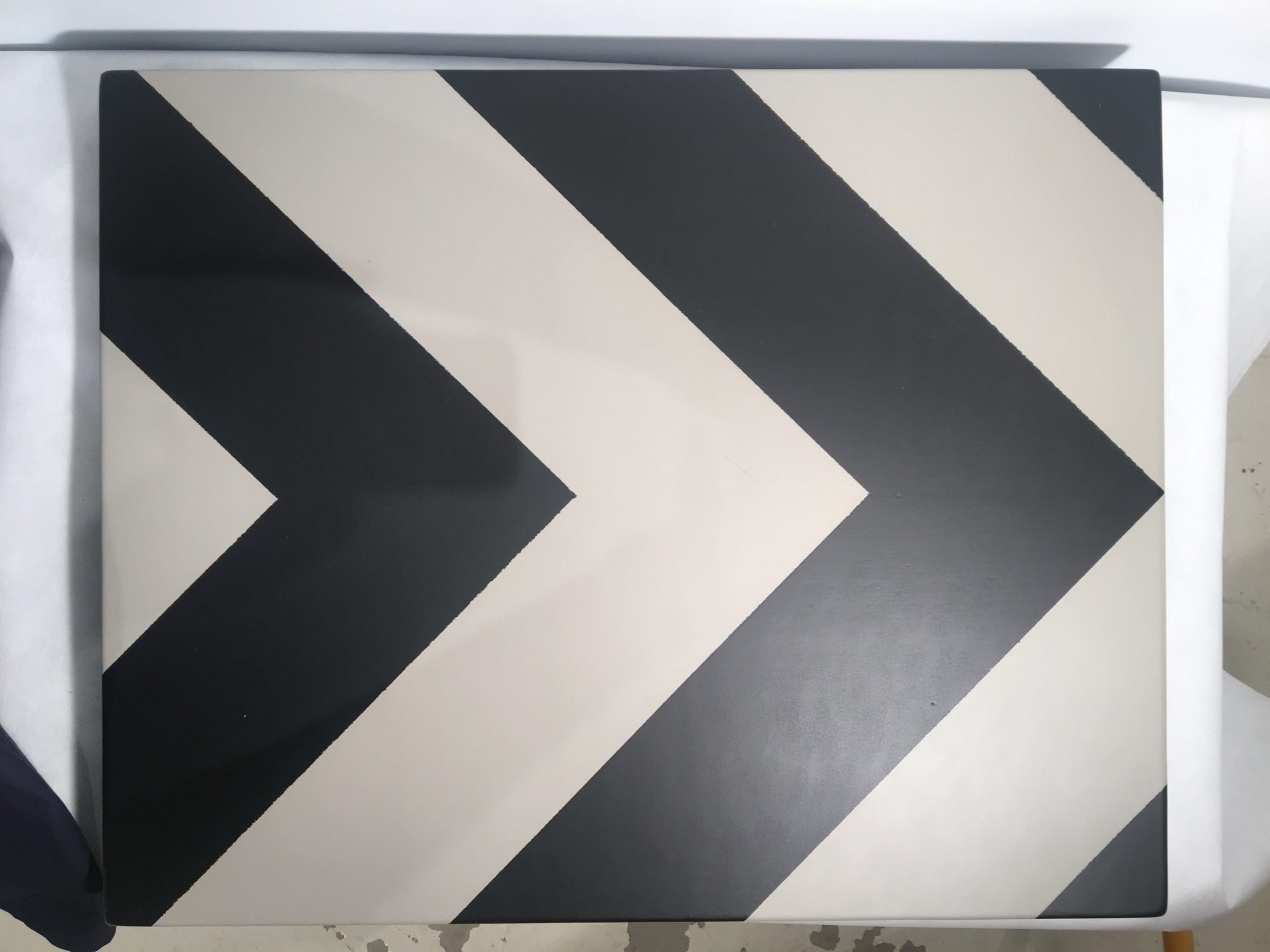 Chevron Grey Black (2)