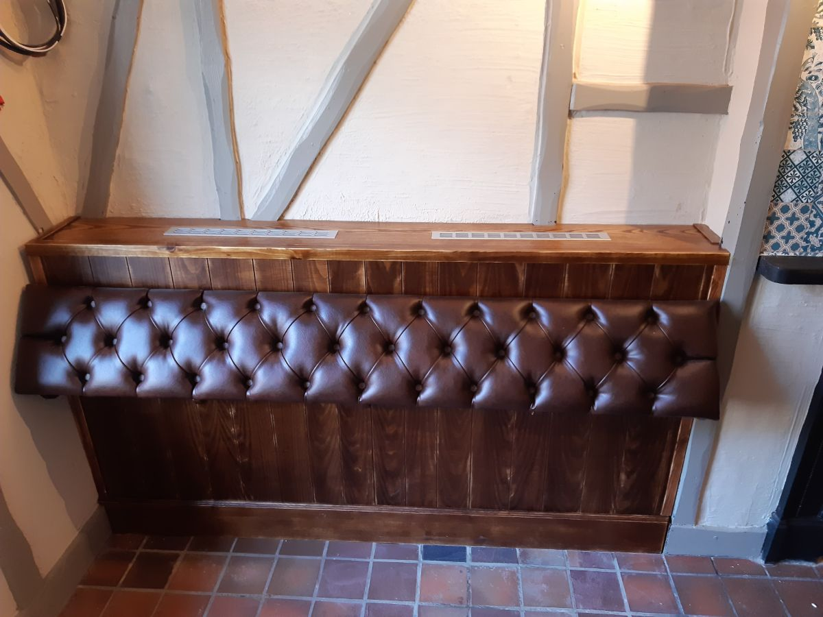 Telegraph Wallasey - Bum Rest Fully Upholstered Deep Buttoned on Suitable Framework (1)