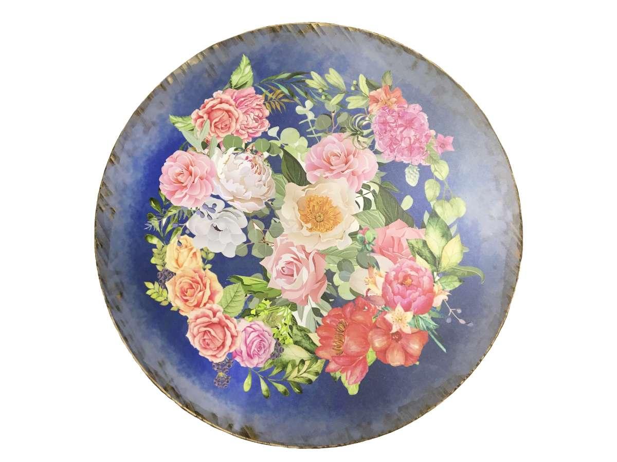 Canal Tavern Flower Vintage Distressed top (1)